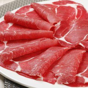 新鮮薄牛肉 1