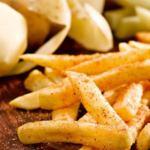新鮮牌新鮮直切薯條 1