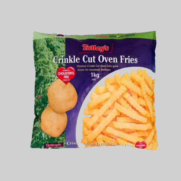 TALLEYS crinkle cut white chips 1