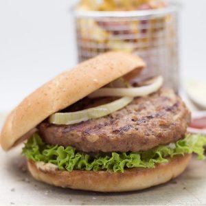 先鋒 bbq burger 1